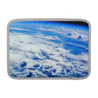 Clouds over Earth MacBook Sleeve