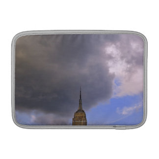 Clouds over Empire State Building Sleeve For MacBook Air