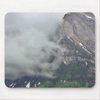 Clouds Over Glacier Mousepad