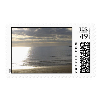 Clouds over Gulf of Mexico Postage Stamp