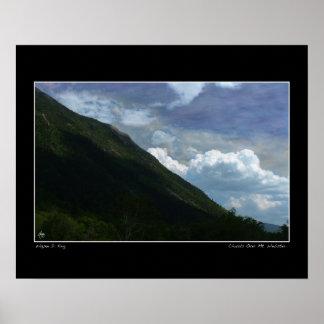 Clouds Over Mt Webster Limited Edition Fine Art Po Poster