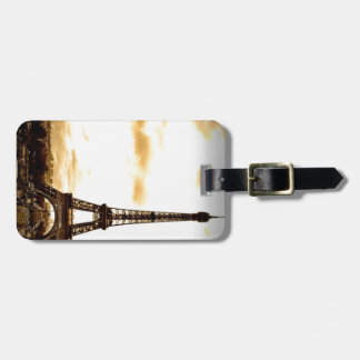 Clouds Over Paris Bag Tag