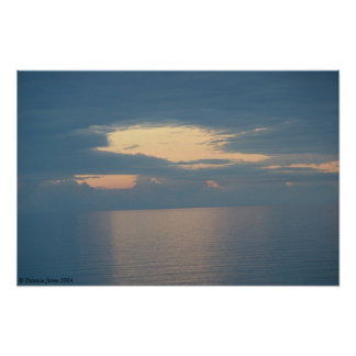 Clouds over Seas Poster