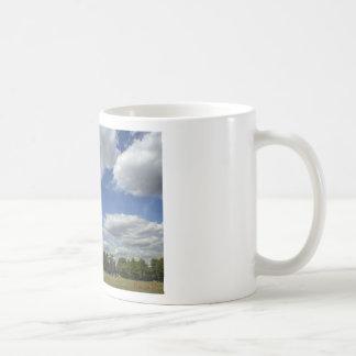 Clouds over Springfield Basic White Mug
