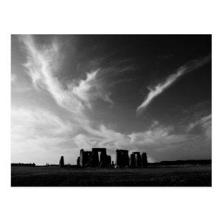 Clouds Over Stonehenge Postcard