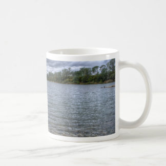 Clouds Over The American River Coffee Mug