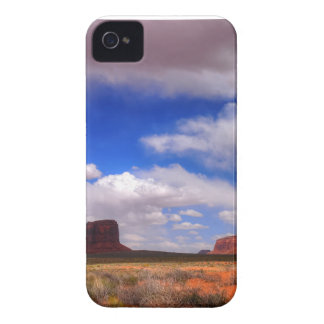 Clouds over the desert iPhone 4 case