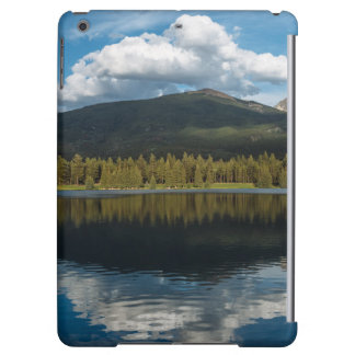 Clouds over the mountain iPad air cases