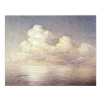 Clouds Over The Sea Wind By Aiwasowskij Iwan Konst 4.25x5.5 Paper Invitation Card