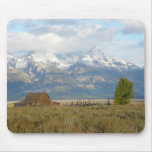 Clouds Over the Tetons Mouse Pad