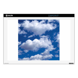 Clouds Peaceful Formations Ocean Beach Laptop Skins
