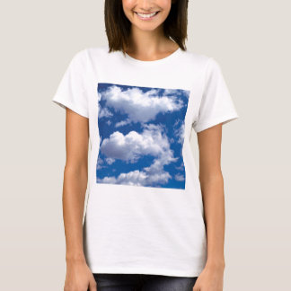Clouds Peaceful Formations Ocean Beach T-Shirt