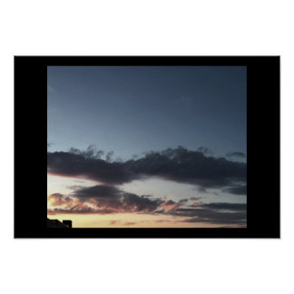 Clouds Photo Poster