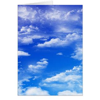 Clouds (portrait) card