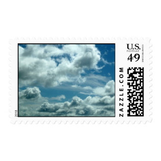 Clouds Postage Stamps