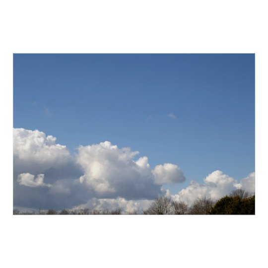 Clouds Poster Print
