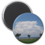 Clouds Refrigerator Magnets