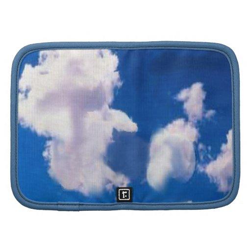 Clouds Rickshaw Folio Organizers