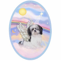Clouds - Shih Tzu Angel (A) Statuette