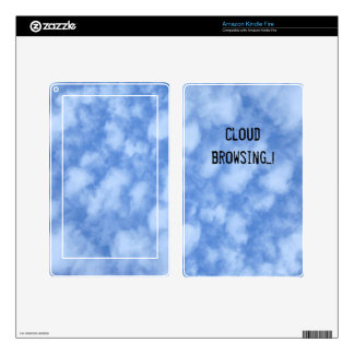 Clouds Skin For Kindle Fire