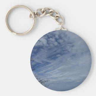 Clouds sky keychain