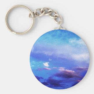 Clouds & Sky Key Chain