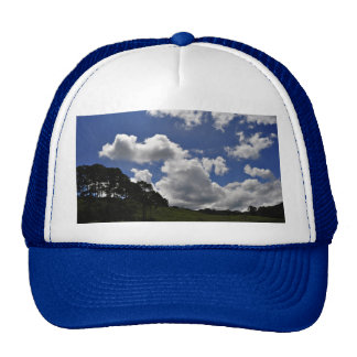 Clouds Sky Landscape Nature Trucker Hat