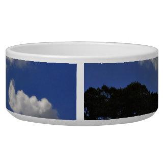 Clouds Sky Landscape Nature Dog Water Bowls
