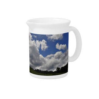 Clouds Sky Landscape Nature Pitcher