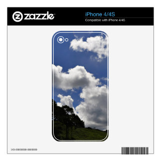 Clouds Sky Landscape Nature Skin For The iPhone 4