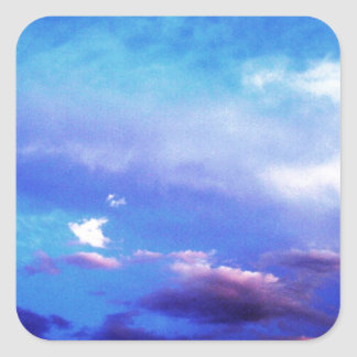 Clouds & Sky Square Sticker