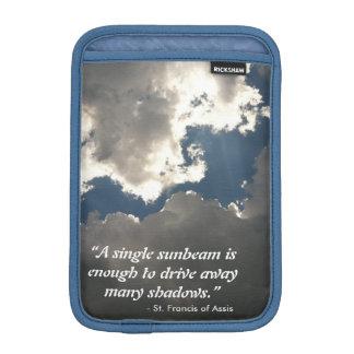 Clouds St. Francis iPad case iPad Mini Sleeves