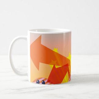 Clouds Stars and Arrows Coffee Mug