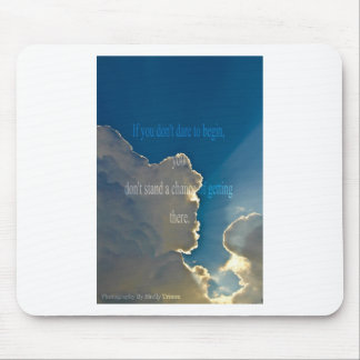 clouds - Start Mouse Pad