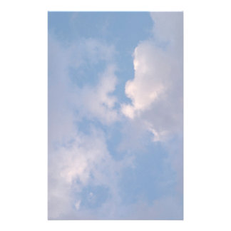 Clouds Stationary Stationery