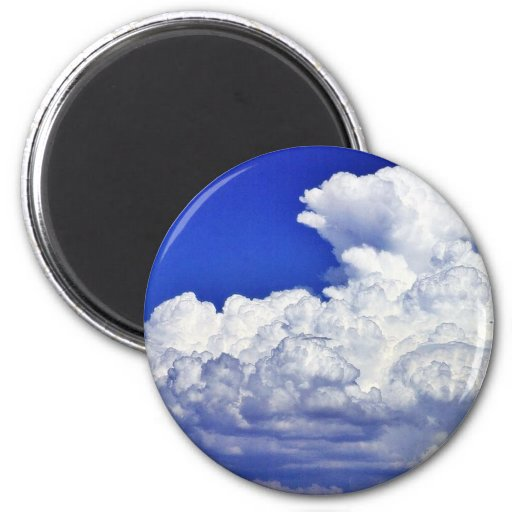 Clouds Storm Refrigerator Magnet