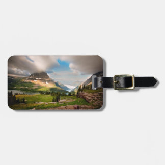Clouds Sweeping Through Mountains Bag Tag