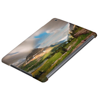 Clouds Sweeping Through Mountains Case For iPad Air