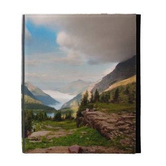 Clouds Sweeping Through Mountains iPad Folio Covers