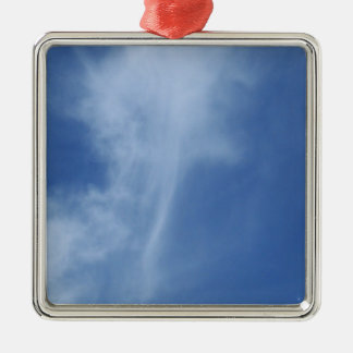 Clouds: Sword of Truth in Sky Metal Ornament