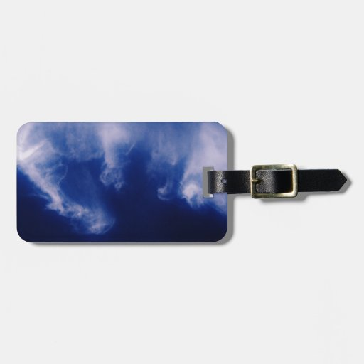 Clouds Tag For Bags