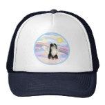 Clouds - Tri Color Australian Shepherd Hats