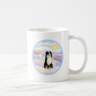 Clouds - Tri Color Australian Shepherd Classic White Coffee Mug