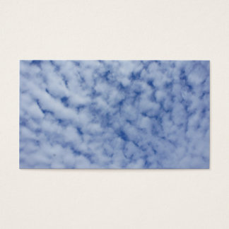 Clouds visiting card collecting main