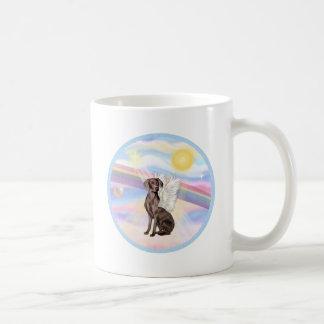 Clouds - Weimaraner Angel Coffee Mug