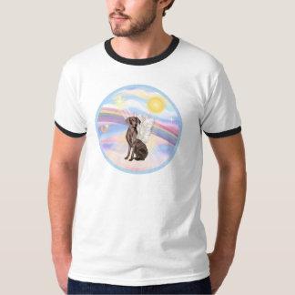 Clouds - Weimaraner Angel T Shirt