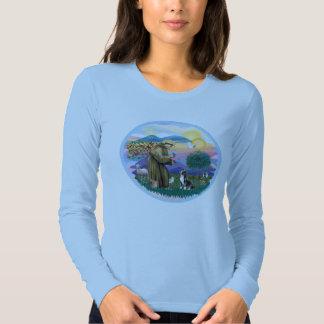 Clouds - Weimaraner Angel T-shirt