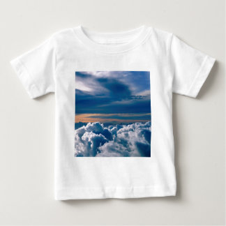 Clouds Wild Blue Yonder Baby T-Shirt