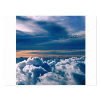 Clouds Wild Blue Yonder Postcard