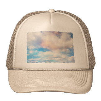 Clouds Wings of Gold and Silver 2 Hat